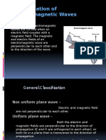 Electromagnetic waves classification