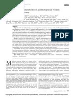 Profiling of Plasma Metabolites in Postmenopausal.8
