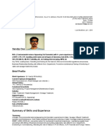 Sandip Das Naukri CV