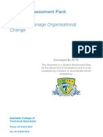 Lead and Manage Organisational Change_BSBINN601_1.00