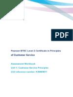 PFS CS Unit 1 Customer Service Principles Workbook v1 (1)