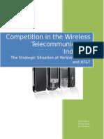 Final Wireless Telecommunications Industry Paper