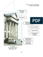 City of Wilmington - Proposed Budget 2010-11 - General Gov. Funds