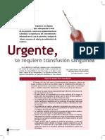 Importancia Del Consentimiento Informado en Las Transfusiones s.
