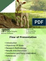 Marketing of SheepMutton SRINIVAS