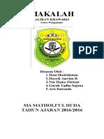 MAKALAH KHAWARIJ.docx