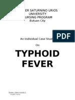 case study on typhoid fever