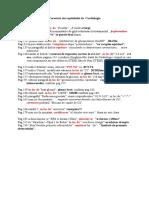 Corecturi Cardiologie