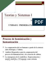 Procesos de humanización y hominización