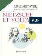 Nietzsche Et Voltaire Guillaume Métayer