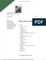 More Sensor Examples - Measuring Stuff
