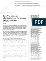 ILPS Philippines_ComVal Banana Plantation Hit for Smear Campaign vs Union