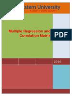 Multipkle Regression
