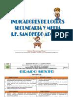 Indicadores Secundaria y Media2015