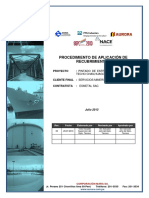 Procedimiento de Pintado - Proyecto Chailhuagon
