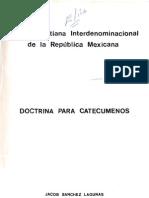 Doctrina Para Catecumenos ICI