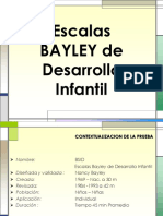 (BSID) Escalas Bayley de Desarrollo Infantil