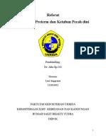 Leni- Persalinan Preterm & KPD Dr. Afra