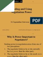 Power in Negotiation ChU
