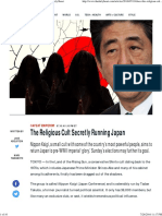 The Religious Cult Secretly Running Japan - The Daily Beast