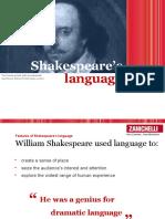 Shakespeare Language
