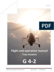 Flight and Operation Manual for Gyrocopter   Rev 3.0