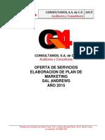 PLAN DE MARKETING Consultanos MAECE
