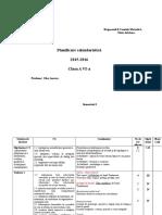 Planificare Cl 6