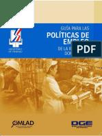 Guía Política Empleo RD