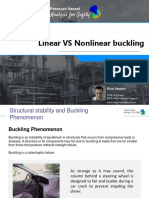 Line Arvs Nonlinear Buckling