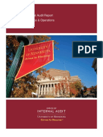 2016 Athletics Finance Operations Report - University of Minnesota