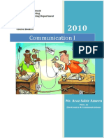 CommunicationI Course Book