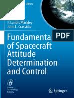 Fundamentals of Spacecraft Attitude Determination and Control