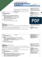 1° PLANIF. MATEM. B III-2015-2016