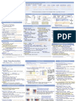 Stata Cheat Sheets