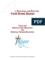 Discovering, Developing, And Deploying Spiritual Gifts Form
