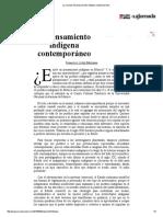 La Jornada_ El Pensamiento Indígena Contemporáneo