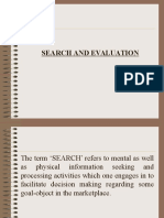 Search and Evaluation