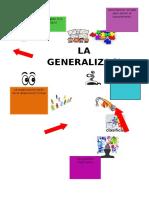 Proceso de Comprension Integral Generalizacion