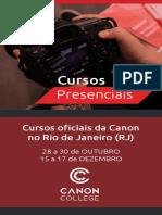 Técnicas de Aprimoramento Em Fotografia - Canon