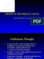 Theory of the Original Image