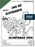 Caderno Atividades Olimpíadas Alfabetização