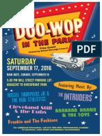 Bristol Borough's 11th Annual Doo Wop in the Park