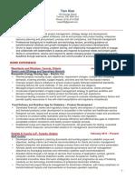 Tian's CV PM.pdf