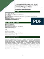 Computer Hardware  & Maintenance.pdf