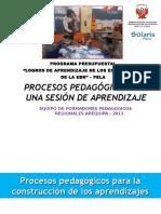 procesospedagogicos Sesión aprendizaje 130424045841 Phpapp02