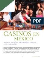 CASINOS en MÉXICO Mejores Prácticas Para Mitigar Riesgos en Su Operación