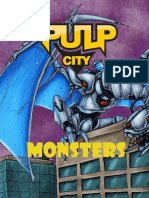 Pulp City Monsters