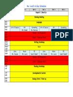 ms  lund- weekly schedule 2016