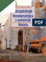 Psicopatología Fenomenológica y Existencial